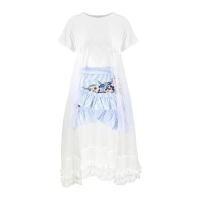 El estilo de Claire – flying see through top_stripe frill wrap skirt